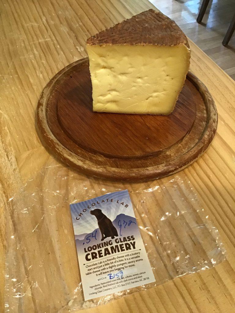 Chocolate Lab cheese