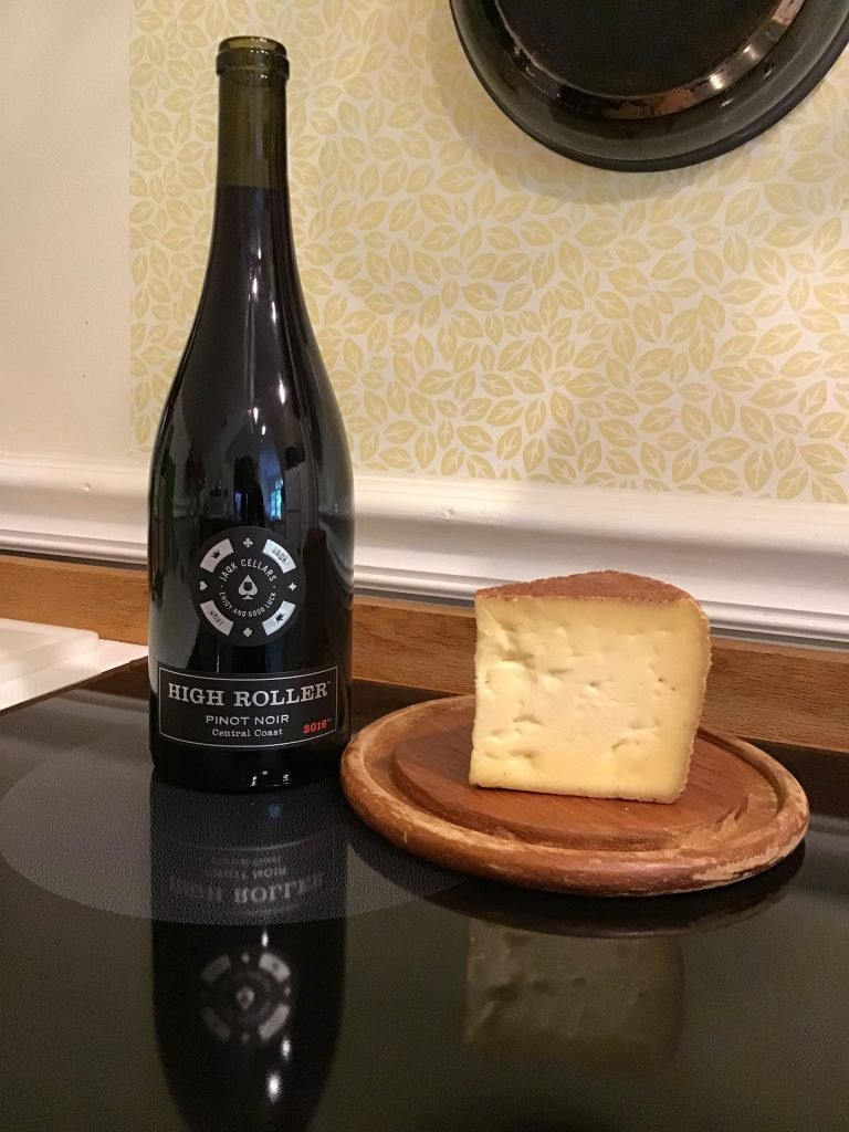 JAQK Cellars Pinot Noir with Looking Glass Creamery Chocolate Lab
