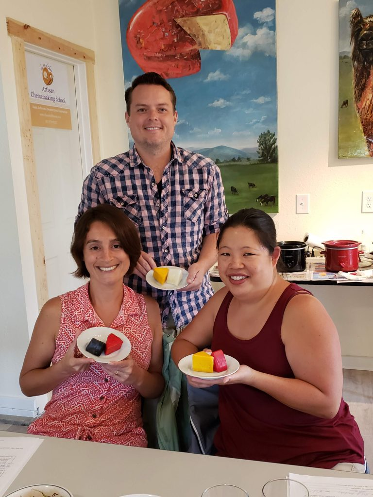 Maria, Neil and Jinnee at The Art of Cheese