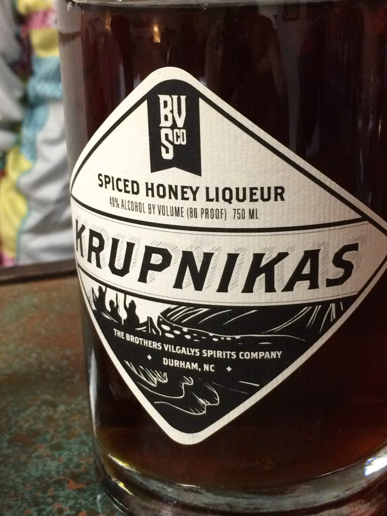 Krupnikas by the Brothers Vilgalys Spirits Company