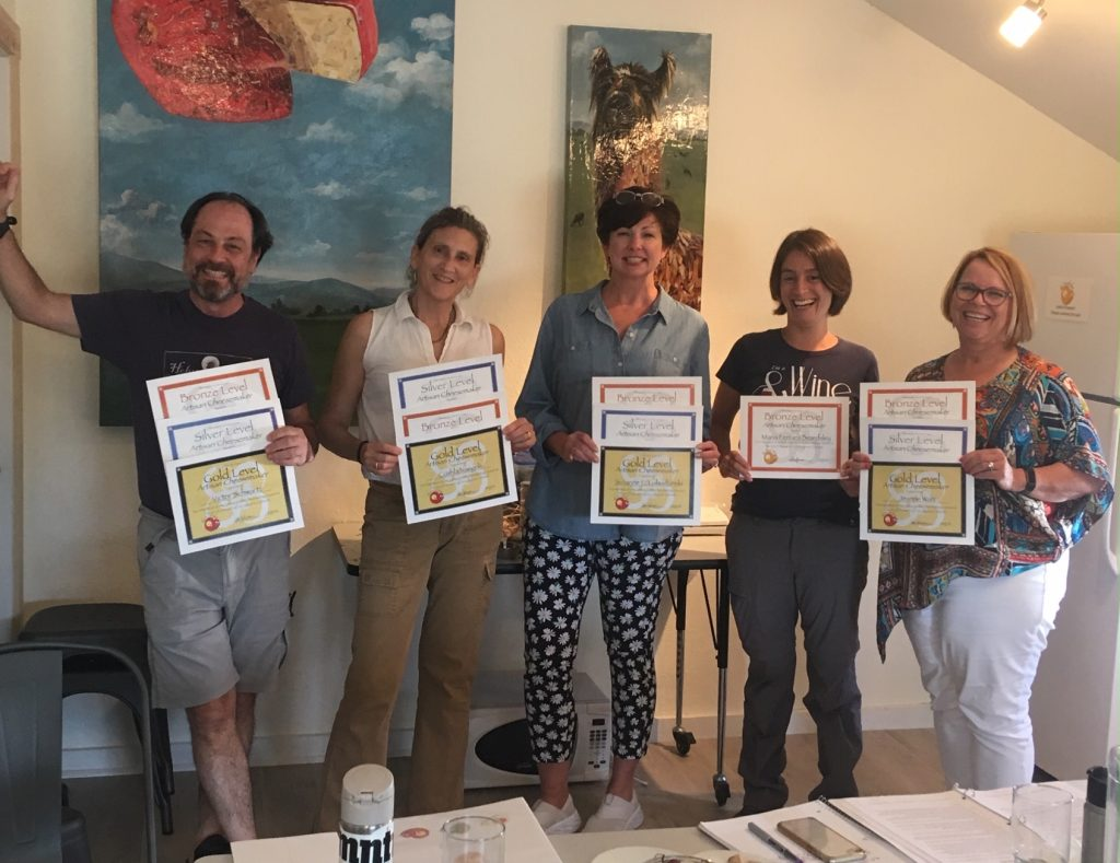 Our Bootcamp class with our certificates