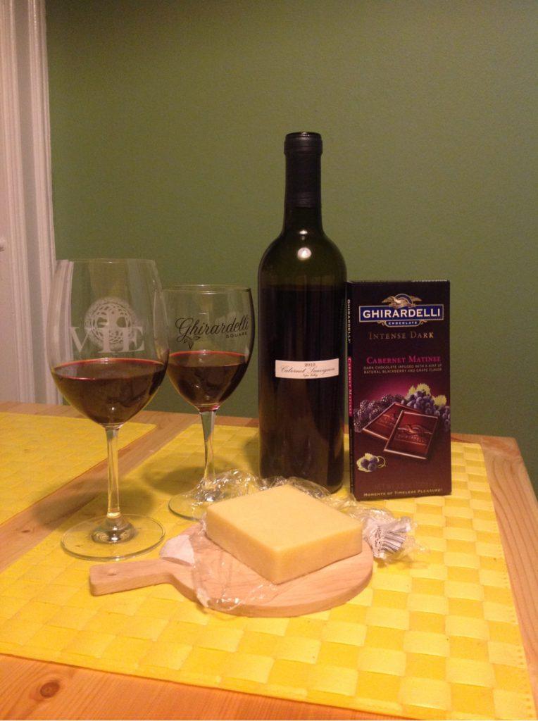 cabernet sauvignon grafton 2 year cheddar cabernet matinee dark chocolate
