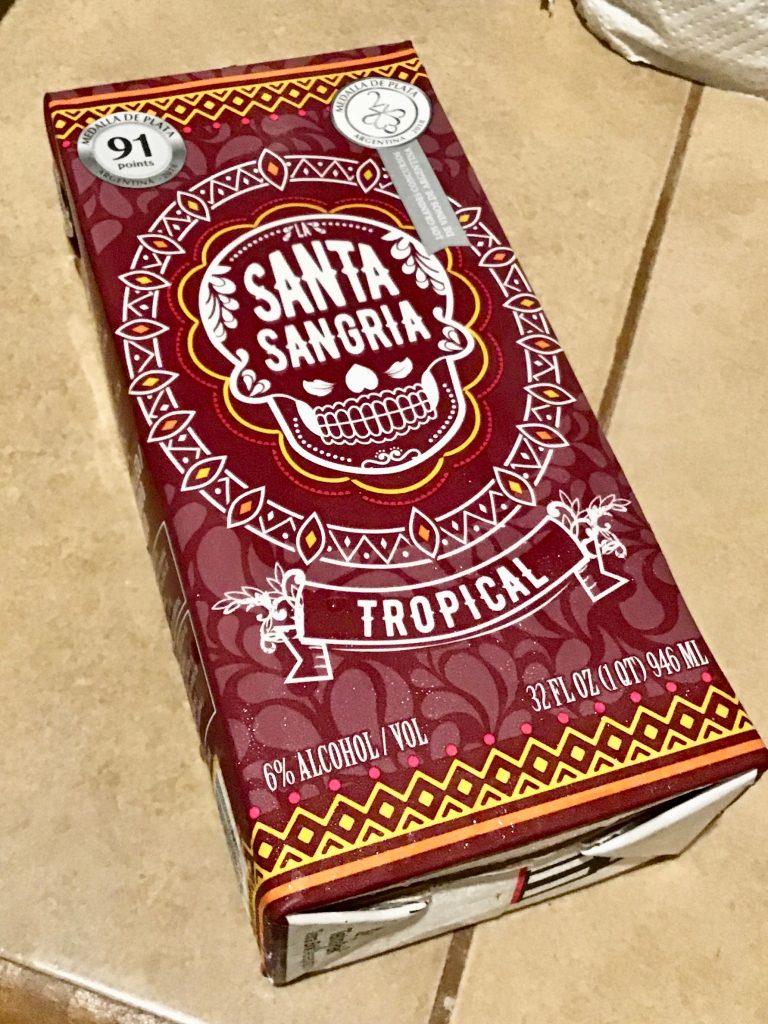 Santa Sangria_Tropical flavor