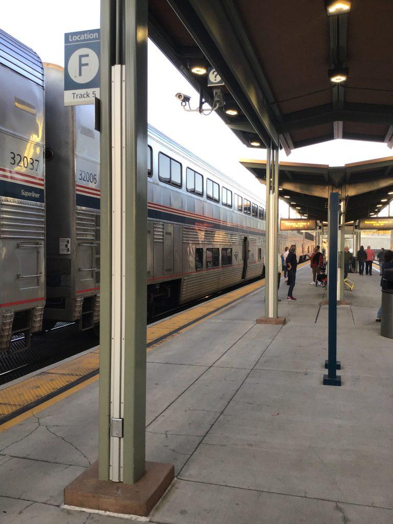 Amtrak toot, toot!