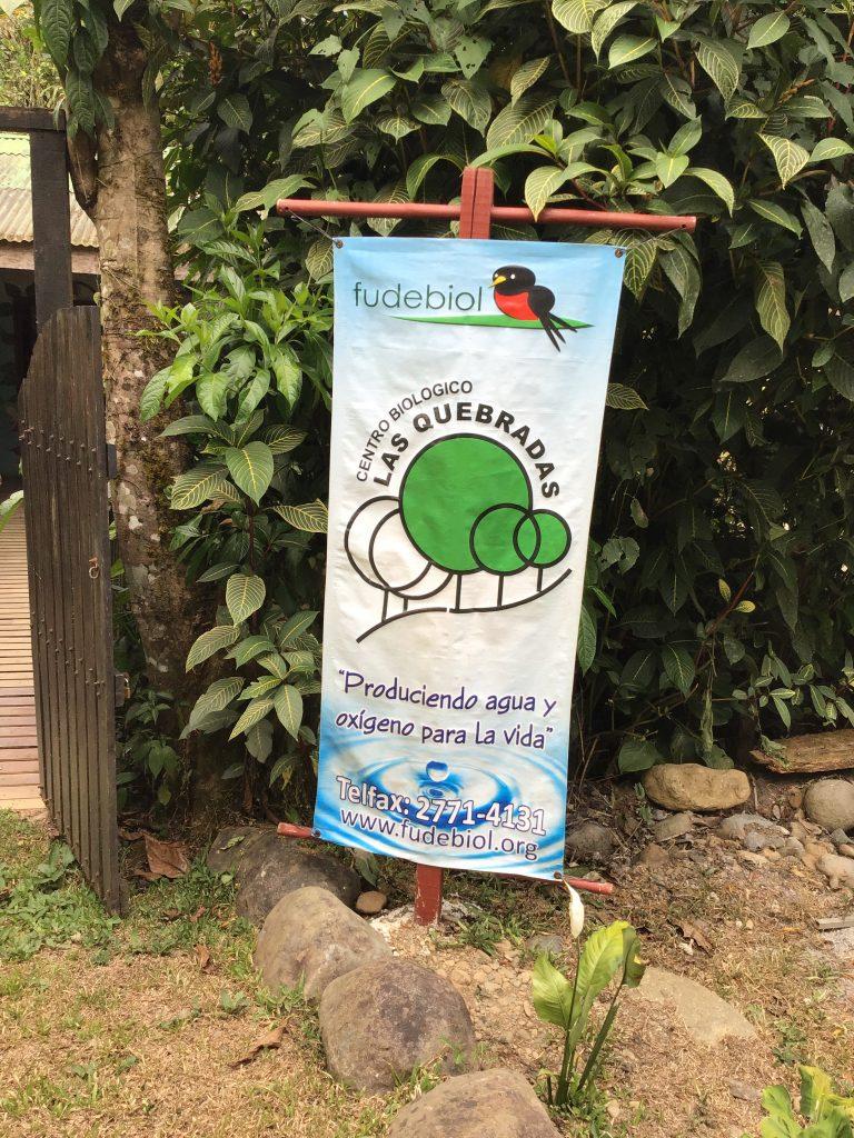 Fudebiol, Centro Biologico Las Quebradas, Costa Rica