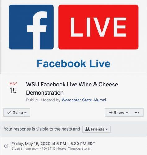 FB Live calendar event