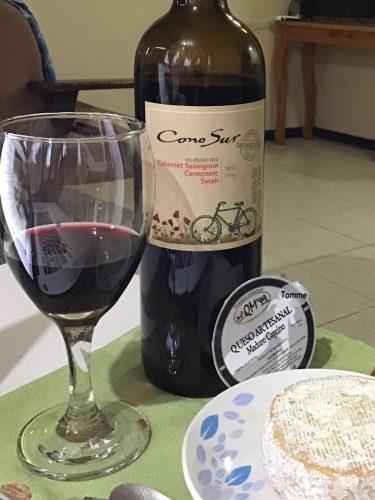 Cono Sur red blend and QM Maduro Caprino