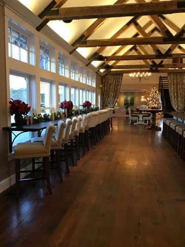 the event space at Cellar Door Winery