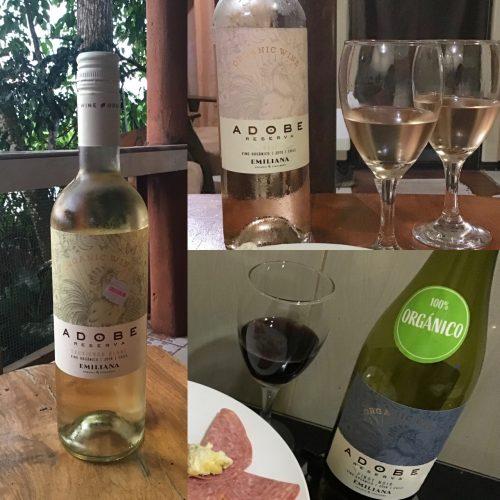 Adobe Reserva Rosé, Pinot Noir and Sauvignon Blanc