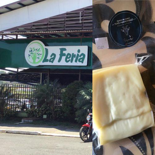 Manchego by Pedrogoso Lacteos purchased at La Feria in San Isidro de General