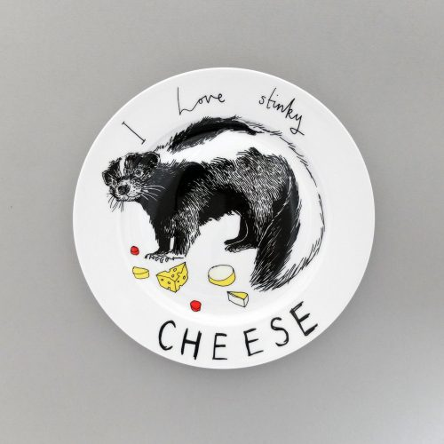 stinky cheese plate