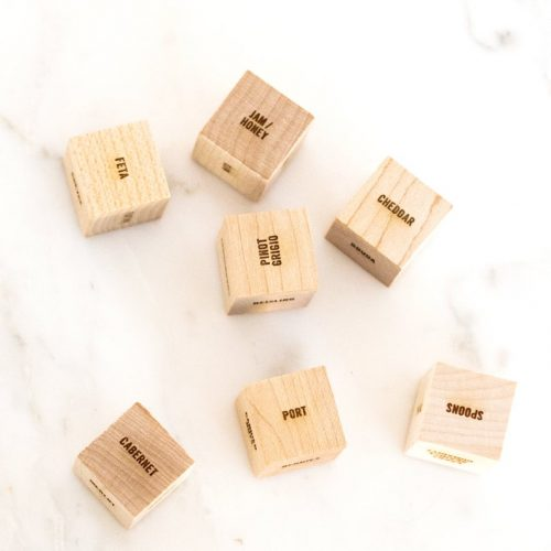 wine and cheese dice game
