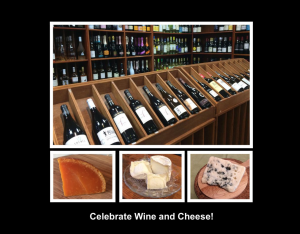 Wine And Cheese Holiday Calendar