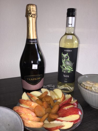 Trapiche Sparkling Rosé and Pinord White Blend