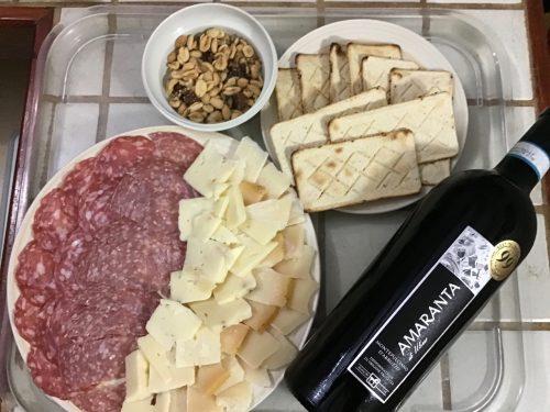 Montepulciano and Parmesan