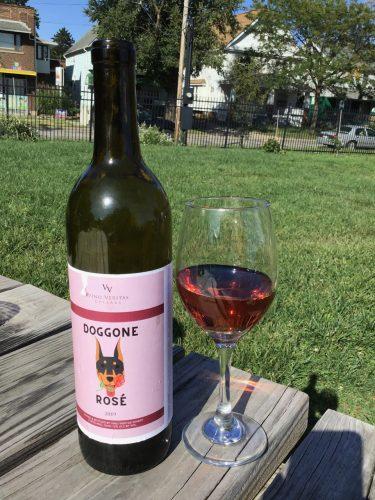 Doggone Rosé from Vino Veritas Winery