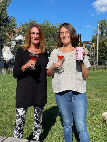 cheers to the pinksociety from Magee333 and winecheesefri