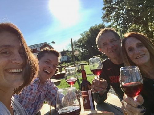 tweetup at Vino Veritas Winery in Cleveland OH